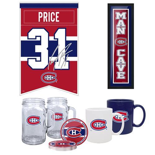 Ensemble de 5 pièces Mustang Products pour les fans des Canadiens de Montréal