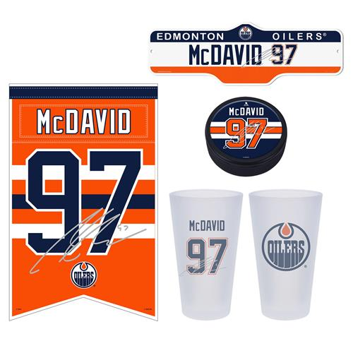 Mustang Products Connor McDavid 4-piece Fan Bundle