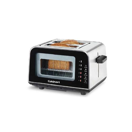 Cuisinart® ViewPro™ Glass 2-Slice Toaster - Brushed Stainless Steel/ Glass