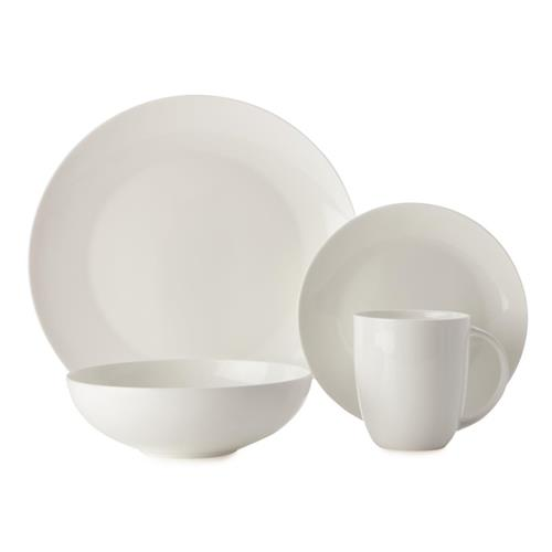 Maxwell & Williams Cashmere Coupe 16-pc Dinnerware Set - White