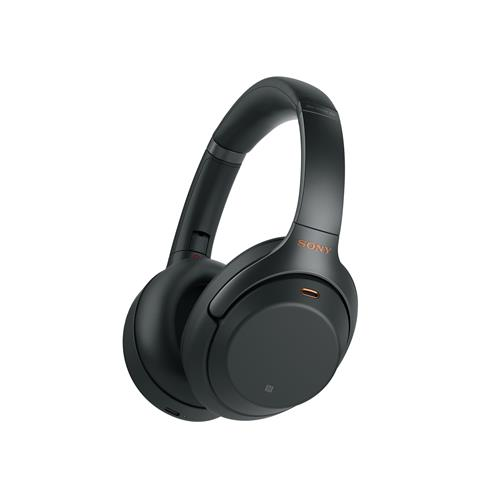 Sony Wireless Over-Ear Noise-Cancelling Headphones – Black
