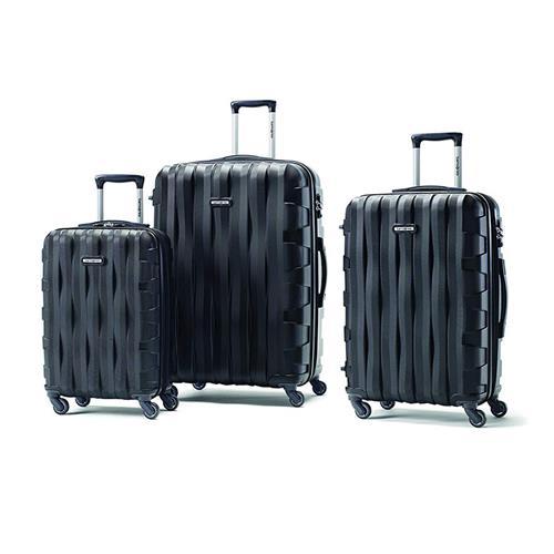 Ensemble de 3 valises Prestige 3D de Samsonite (noir)