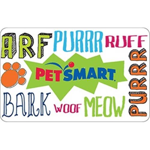 Carte-cadeau Pet Smart de 50 $