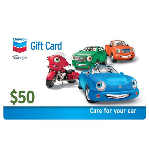 Chevron $50 Gift Card