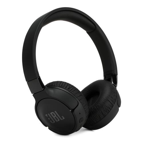 JBL Tune Wireless On-Ear Active Noise-Cancelling Headphones – Black
