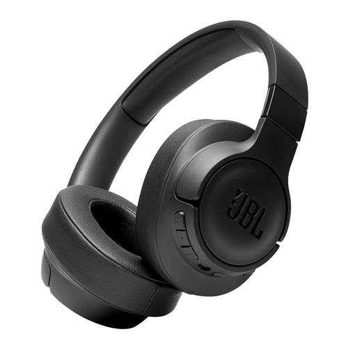 JBL Tune Wireless Over-Ear Headphones With Noise Cancellation – Black
