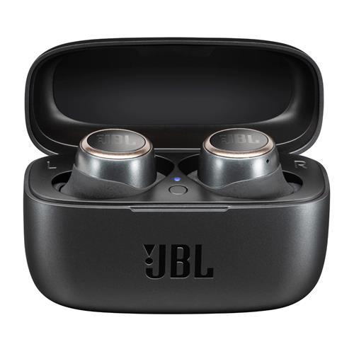 Écouteurs intra-auriculaires véritablement sans fil Live de JBL dotés de la technologie Smart Ambient (noir)