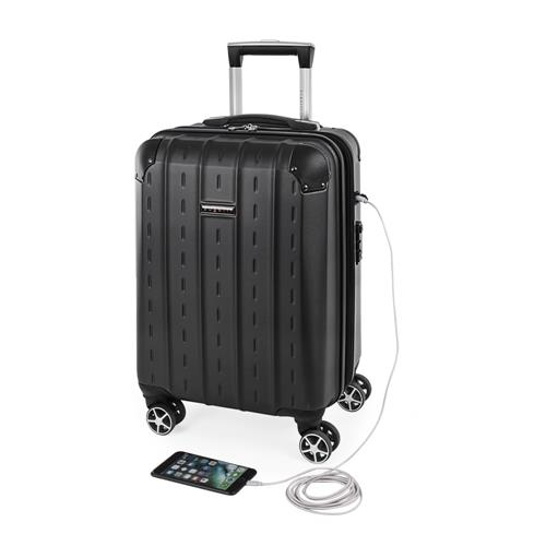 Bugatti Hardside Carry-On – Black