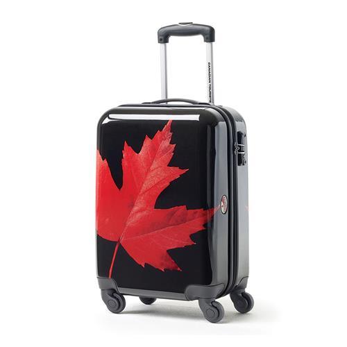Valise de cabine Feuille d'érable Canadian Tourister (rouge)