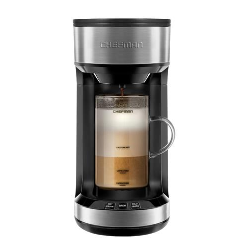 Chefman Froth'n'Brew Coffee Maker plus Integrated Frother