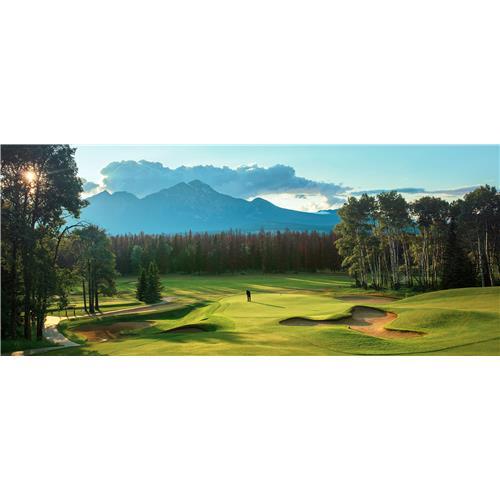 Terrain de golf du Fairmont Jasper Park Lodge — chèque-cadeau de 50 $