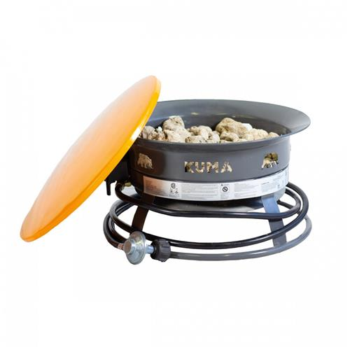 Kuma 48-cm Bear Blaze Fire Bowl - Orange/Graphite