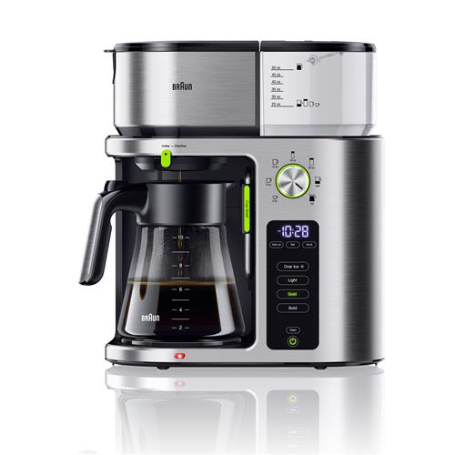 Braun MultiServe Coffee Machine - Stainless Steel