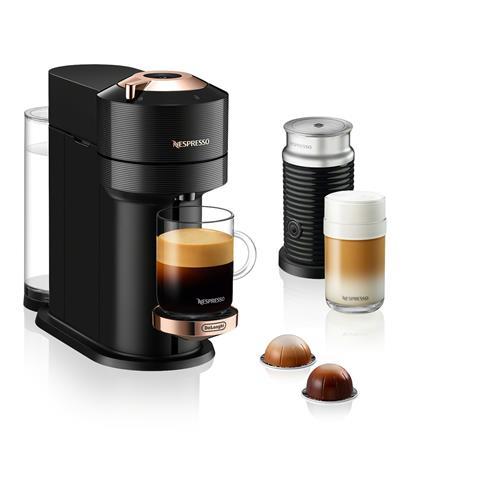 Nespresso© Vertuo Next with Aeroccino - Premium Rich Black