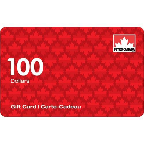 Petro-Canada $100 Gift Card