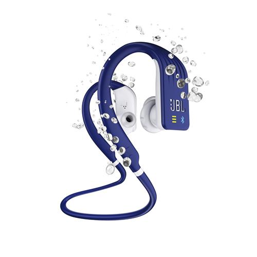 JBL Endurance DIVE Waterproof Wireless In-Ear Headphones with MP3 Player – Blue