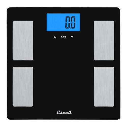 Escali Glass Scale - Body Fat, Body Water, Muscle Mass
