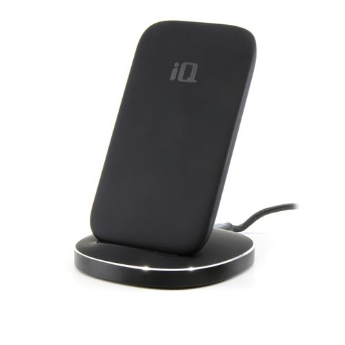 iQ Wireless Qi Charging Stand with Quick Charge 3.0 Charger – Black