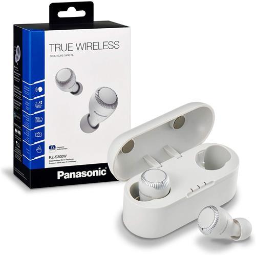 Écouteurs-boutons véritablement sans fil Panasonic (blanc)