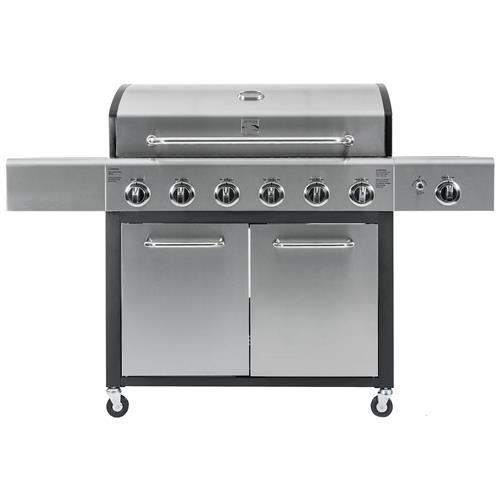Kenmore 6 Burner XL Plus Side Burner Grill - Propane