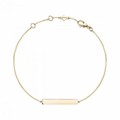 Birks Essentials Gold Horizontal Bar Bracelet