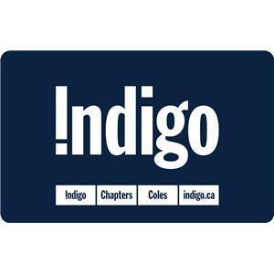 Carte-cadeau Indigo de 50 $