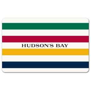 Hudson's Bay $25 Gift Card