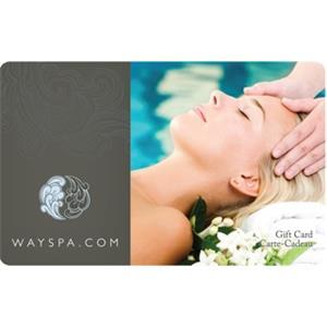 Carte-cadeau WaySpa de 100 $