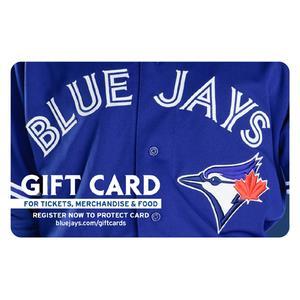 Carte-cadeau Blue Jays de Toronto de 50 $