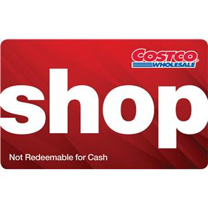 $100 Costco Shop Card
