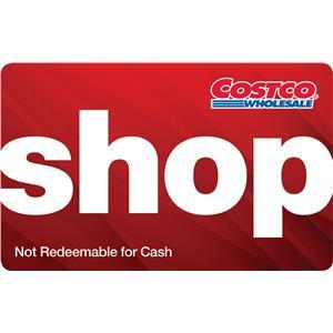 Carte Comptant de Costco Wholesale 100 $