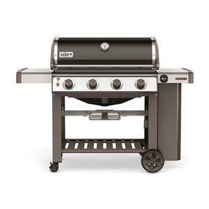 Barbecue à quatre brûleurs au propane liquide Genesis II® E-410MC de Weber (noir)