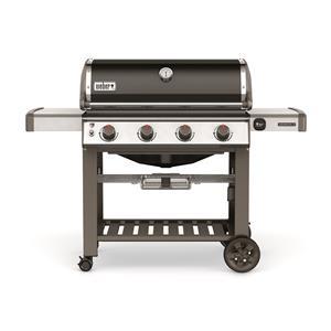 Barbecue à quatre brûleurs au gaz naturel Genesis II® E-410MC de Weber (noir)