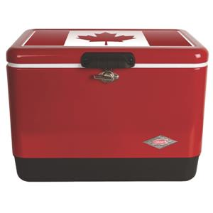 Coleman 54 Qt. Steel Belted Canadian Cooler - Red