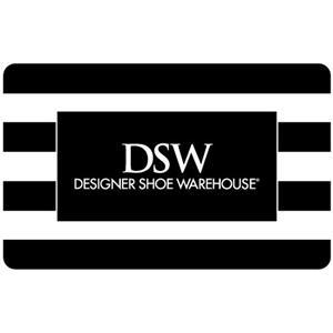 Carte-cadeau DSW / Shoe Company / Town shoes de 50 $