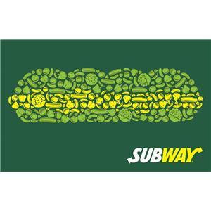Subway $25 Gift Card