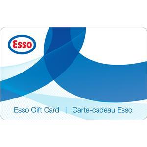 Carte-cadeau Esso de 100 $ + carte Prix Privilèges Esso de 5 ¢