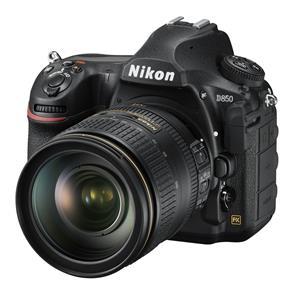 Appareil photo D850 de Nikon et objectif 24-120 mm f/4G ED VR