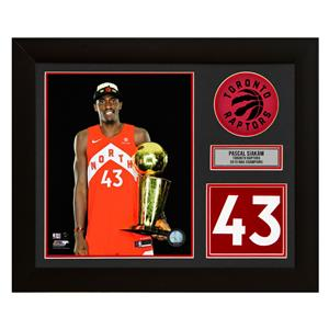 A.J. Sports World Pascal Siakam Toronto Raptors 2019 NBA Champion Jersey Number Frame