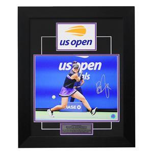 A.J. Sports World Bianca Andreescu Autographed 2019 U.S. Open Finals Frame
